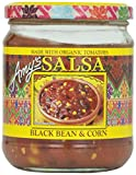 corn black bean salsa - Amy's Organic Salsa, Fat Free Tomato, Black Bean & Corn, 14.7 Ounce