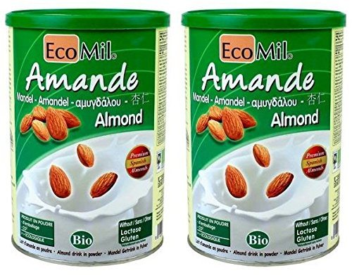 (2 Pack) - Ecomil - Almond Powder | 400g | 2 PACK BUNDLE (Almond Milk Baking)
