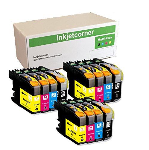 Inkjetcorner Compatible Cartridges Replacement MFC J460DW