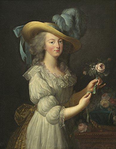 Doppelganger33LTD Painting LE BRUN Queen France Marie-Antoinette XXL Poster Wall Art Print LLF0329