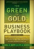 The Green to Gold Business Playbook, P. J. Simmons, 0470590750