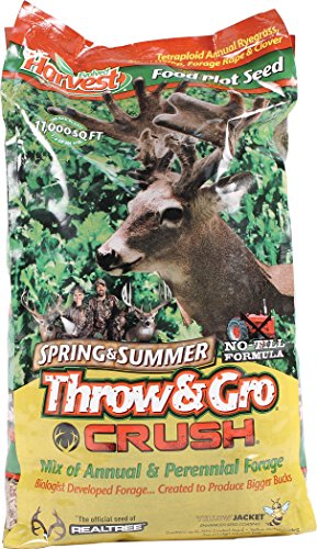 Evolved Harvest Throw & Gro Spring Crush Deer Food Plot Seed