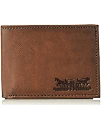 Men's RFID Blocking Passcase Wallet