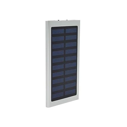 Amazon.com: tavlar 100000 mAh Dual USB Portable Solar ...