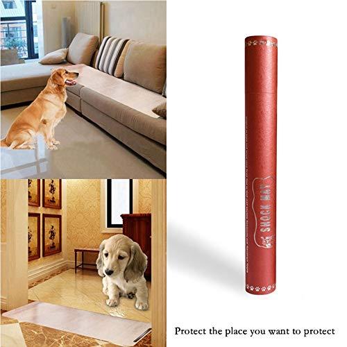 Pawaca Barrera para Mascotas para Zonas Fuera de l/ímite Control de Voz para Perros y Gatos Almohadilla de Entrenamiento para Mascotas en Interiores con Choque el/éctrico