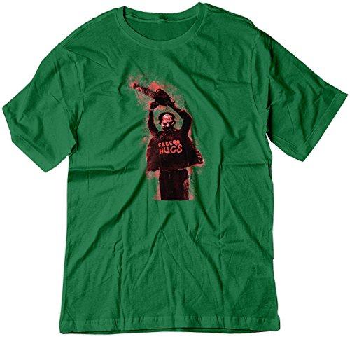 Price comparison product image BSW Youth Free Hugs Leatherface Texas Chainsaw Massacre Shirt XS Irish Green