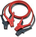 AEG Câble d'aide au démarrage «Alu-Tec», pour batteries 12 et 24V, dans un sac de rangement, 2 x 3m, conforme à la norme DIN 72553