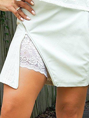 Bandelettes (bandas de encaje elástico para evitar el roce de los muslos) (A, Blanco): Amazon.es: Hogar