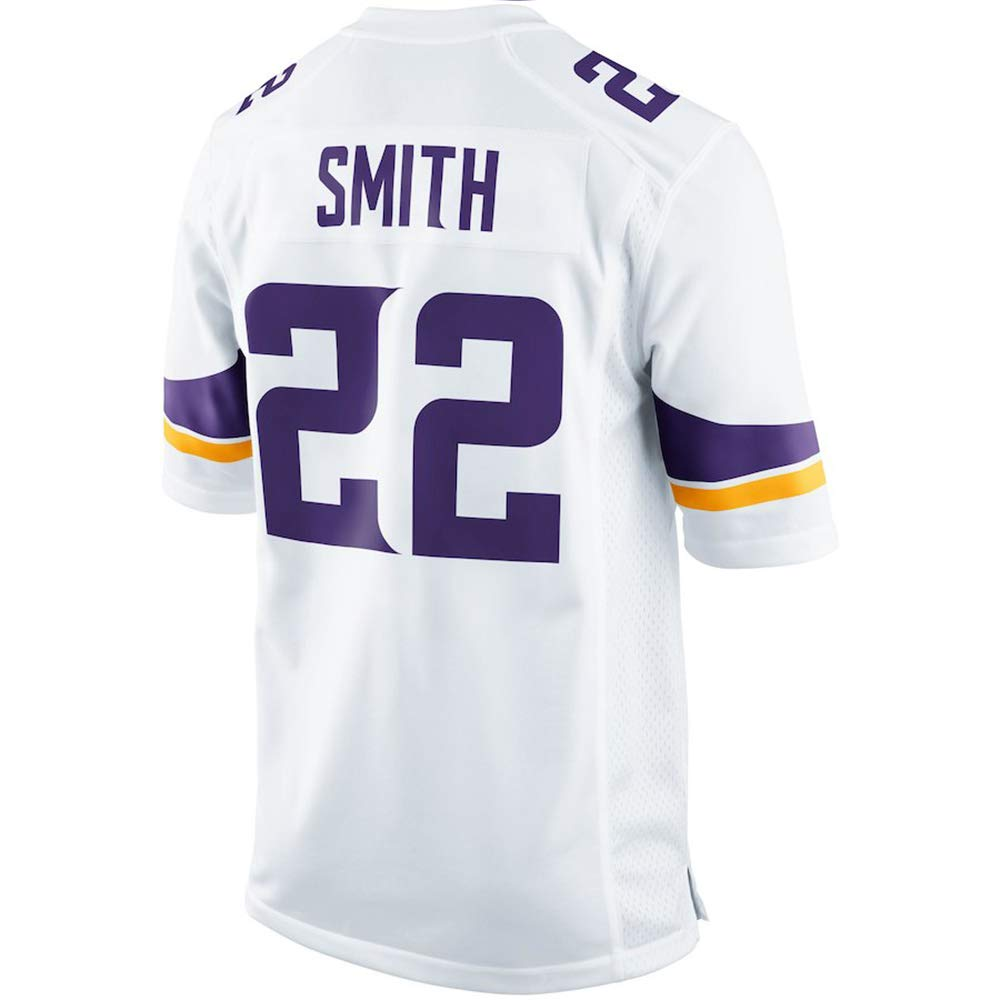 TOU DLE Men's Women's Youth_Harrison_Smith_White_Game_Jersey