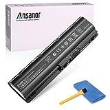 Ansanor 47WH 10.8V New Laptop Battery for HP Presario CQ32 CQ42 CQ43 CQ56 CQ62 CQ72 COMPAQ 435 436, HP 593553-001 593554-001 MU06 MU09 [6-cell]