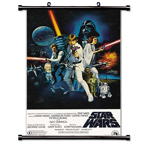 Star Wars Movie Fabric Wall Scroll Poster  Inches
