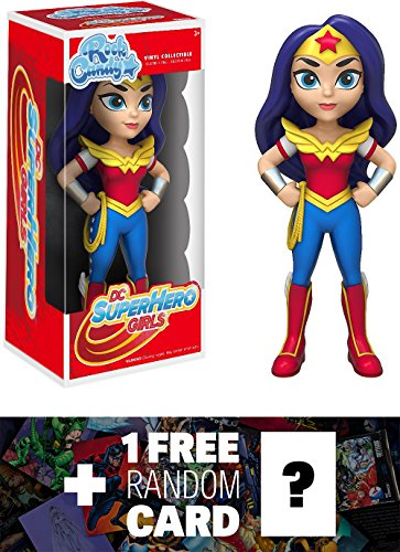 Rock Candy x DC Universe Vinyl Figure + 1 FREE Official DC Trading Card Bundle (119467) ()