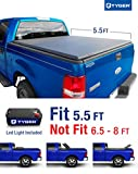 f150 bed cover - Tyger Auto TG-BC3F1016 TRI-FOLD Truck Bed Tonneau Cover 2004-2008 Ford F-150 (Excl. 2004 Heritage); 2005-2008 Lincoln Mark LT   Styleside 5.5' Bed