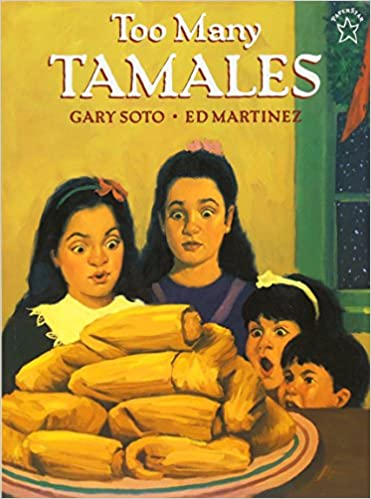 Image result for too many tamales book