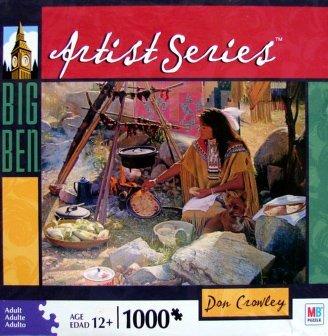 Big Ben Artist Series 1000pc. Don Crowley Tortillas Stymie