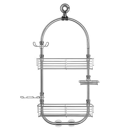 Amazon.com: InterDesign Forma Hanging Shower Caddy Station ...