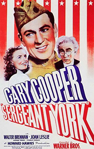 Sergeant York Poster - Sergeant York 11 x 17 Movie Poster - Style A