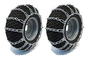 Nuevo par 2enlace cadenas de los neumáticos 22x 10x 12se ajusta a muchos Kawasaki Mule Teryx UTV vehículo por la tienda de Rop