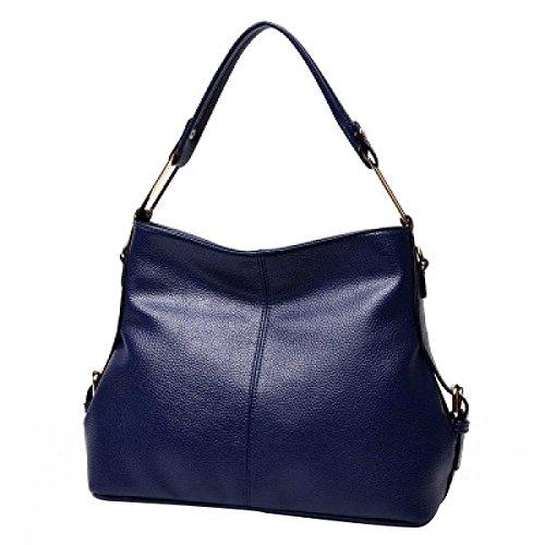 Le Donne La Moda Il Sacchetto Di Spalla Borsa Pacchetto Diagonale Blue