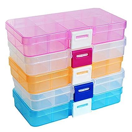 Generic S - Caja organizadora para manualidades (plástico, 12,5 x 6,