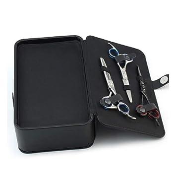 Peluquería Kit Multifunción Cabello Secador Tijeras Bolsa Belleza Caja De Herramientas Peluqueria Almacenamiento Maletín,Black,24.5X14.5X7.5Cm: Amazon.es: ...