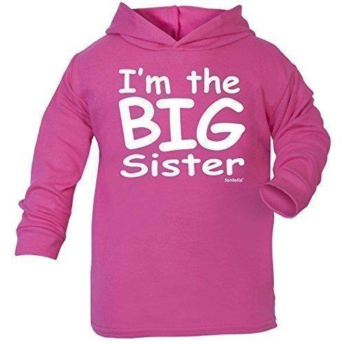 123t Baby I'M THE BIG SISTER DESIGN COTTON HOODIE TEE TEE