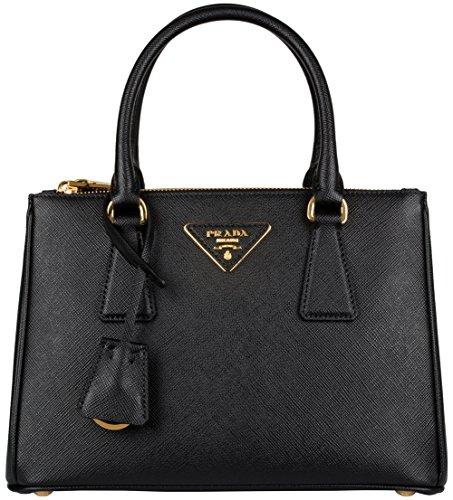 Prada Saffiano Galleria Bag - Black