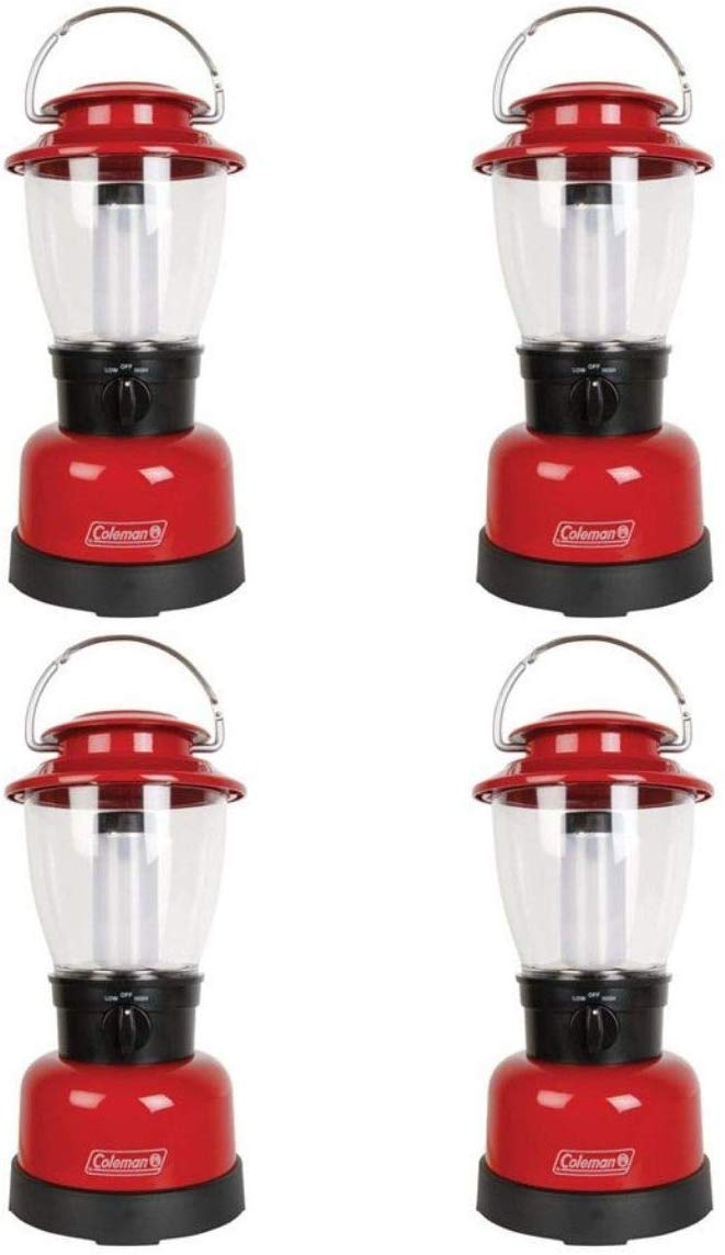 Coleman Carabineer Classic Personal Size LED Lantern, Red