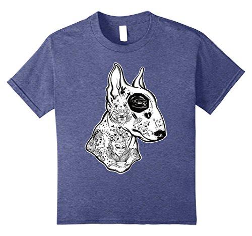 Inked Bull Terrier TShirt  Old School Tattoo Funny Dog Tee