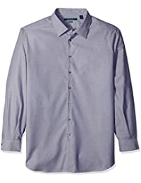 Perry Ellis Men's Big and Tall Travel Luxe Geometric...