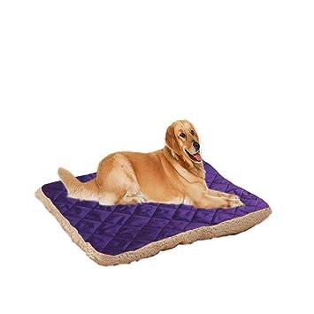 635 Cama para Perros Manta de Felpa de acondicionador de Aire de VIP Tediginmau para colchón de Perro pequeño Gato (Violeta Intenso): Amazon.es: Hogar