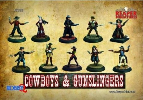 Reaper Miniatures: Cowboys & Gunslingers