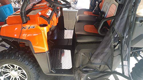Polaris Ranger 800 2009-2014 Custom Diamond Plate Aluminum Floor Boards