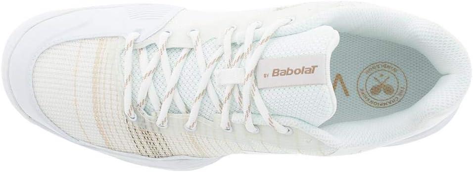 UK 5 Babolat Jet Mach 1 All Court Wimbledon Damen wei/Ã?