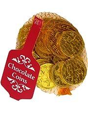 Creme D'Or Goud Net van Melk Chocolade Munten 50 g ouder