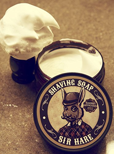 Old Fashioned Shaving Soap For Men By Sir Hare Barbershop