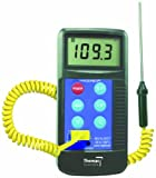 Thomas Traceable Workhorse Thermometer, Type K Thermocouple, -58 to 2372 Degree F, -50 to 1300 Degree C, Probe Range (Supplied with Unit) -45 to 230 Degree C, Accepts All Type K Probes