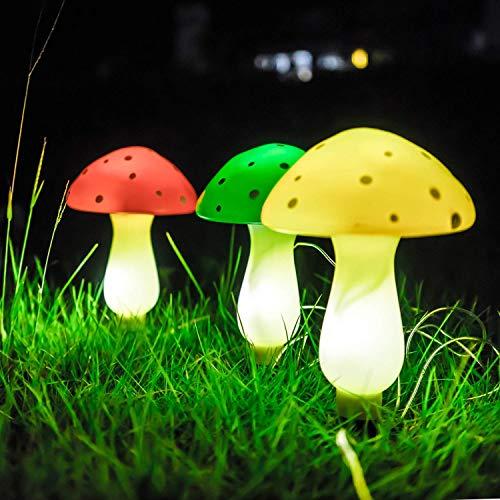 Outdoor Solar Mushroom Lights in US - 7