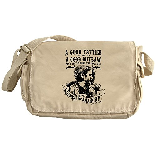 Cafepress   Sons Of Anarchy Good Father   Unique Messenger Bag  Canvas Courier Bag