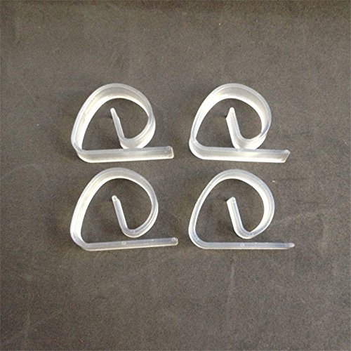 Zoomy far Best Plastic Clear Tablecloth Table Cover Clips Holder Party Picnic: 1Pcs