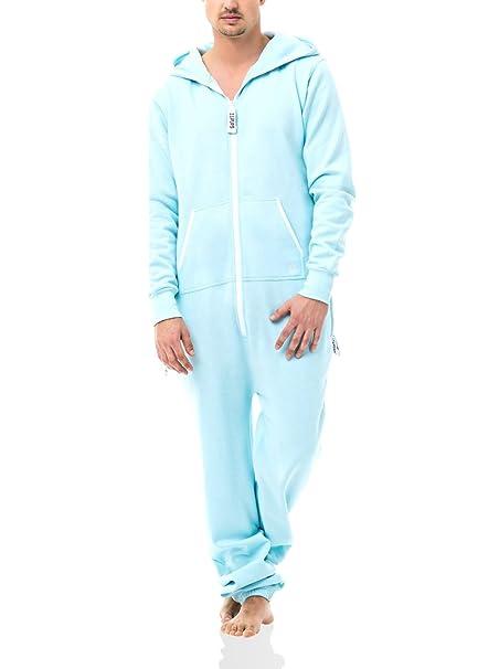 Zipups Mono-Pijama Clean Cut Azul Ártico L