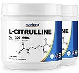 Cheap Nutricost Pure L-Citrulline (Base) Powder (600 Grams) (2 Bottles)