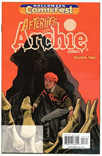 AFTERLIFE with ARCHIE #1 Halloween Comicfest, Promo, 2016, NM, Betty -