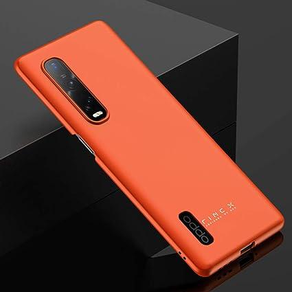 BaiFu Funda para OPPO Find X2 Pro, Carcasas y Fundas Protector Fina y Slim  Case para teléfono Carcasa para OPPO Find X2 Pro-Naranja: Amazon.es:  Electrónica