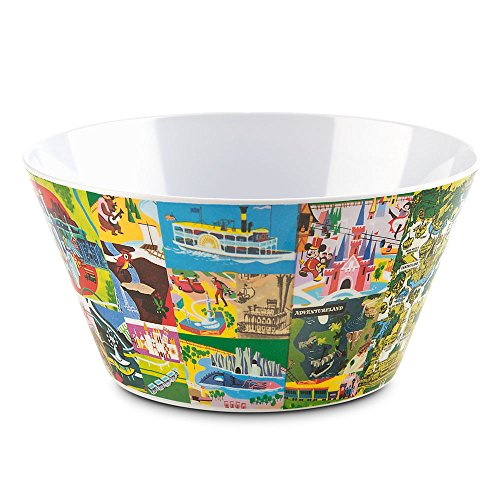 Disney Magic Kingdom Map Bowl - Fantasyland
