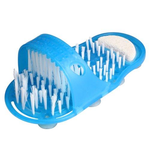 Queen 's Park easyfeet pie Scrubber cepillo para polvo masajeador limpiar baño