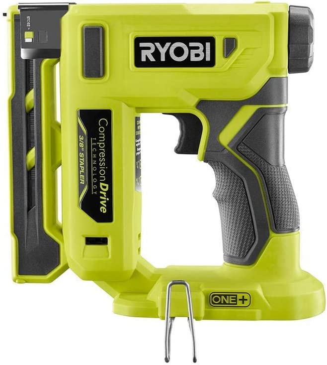 Crown Stapler Tool Only P317 Renewed Ryobi 18-Volt ONE+ Cordless Compression Drive 3//8 in