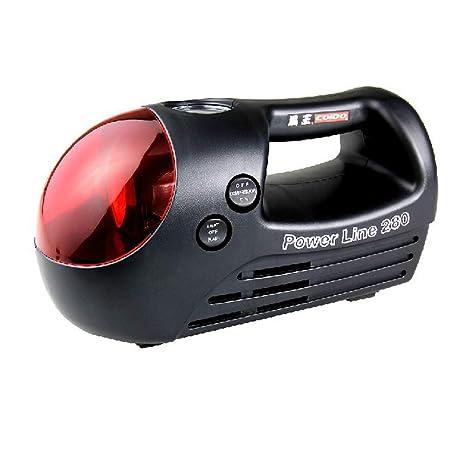 Modenny Compresor de aire del compresor de aire portátil estupendo de la bomba del coche del