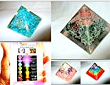 Jet Exquisite Four (4) RCA Feroza Green Mica Rainbow Pyramid 1 each Best Offer Free Booklet Jet International Crystal Therapy Crystal Gemstones Copper Metal UPS EXPEDITED SHIPPING