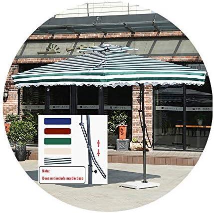 250x250cm カンチレバーパティオ傘 UV耐性オフセットハンギングパラソル クランク&クロスベース付き 庭、デッキ、裏庭、ビーチ用